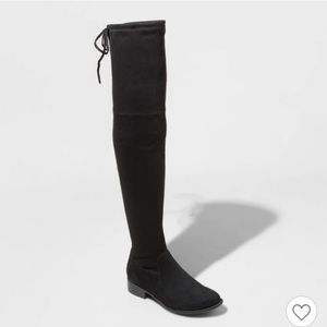 Women's suede over the knee boots